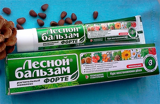 Паста за зъби Forest Balsam Forte
